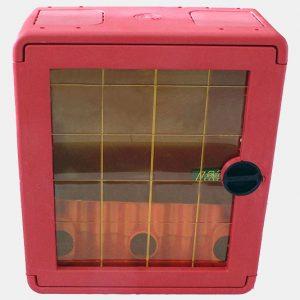 Cassetta in plastica portello con lastra