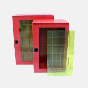 Cassetta esterno porta manichetta in acciaio